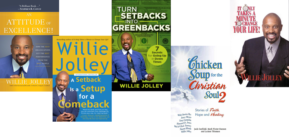 Books and eBooks - Dr. Willie Jolley | Official Website of the #1 ...